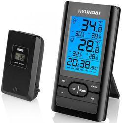 Hyundai stacja pogodowa ws1070, czarna