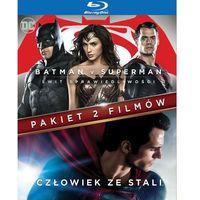 Pakiet 2 filmów: Batman v Superman: Świt sprawiedliwości/ Człowiek ze stali (Blu-Ray) - Zack Snyder