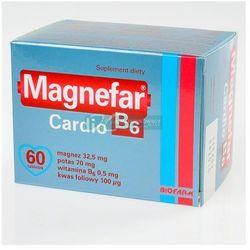 Magnefar b6 cardio x 60 tabl (lek Witaminyi minerały)