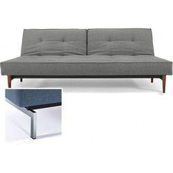 INNOVATION iStyle Sofa Splitback szara 216 nogi chromowane - 741010216-741010-0-2