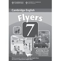 Cambridge Young Learners English Tests Flyers 7 Answer Booklet (2011)