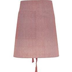 Fartuch kuchenny chambray organic krótki różowy