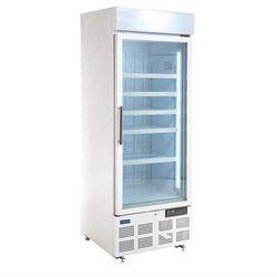 Szafa mroźnicza z podświetleniem 1-drzwiowa przeszklona | 412L | -18 do -22°C | 745x680x(H)1990mm