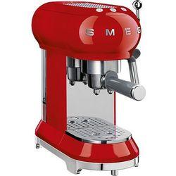 Smeg Ekspres do kawy 50's style czerwony