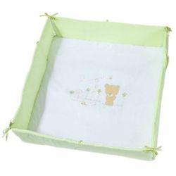 Easy Baby Wkładka do kojca 100x100cm Honeybear kolor zielony z kategorii Pozostałe meble do pokoju dziecięcego