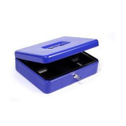 Kasetka metalowa na pieniądze HF-M300A niebieska, ARG606093