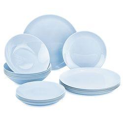 4-home Mäser 18-częściowy serwis obiadowy diwali light blue