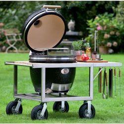 Grill ceramiczny classic z buggy, ruszt 46 cm marki Monolith grill (germany)