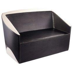 Activeshop Gabbiano sofa do poczekalni paryż czarno - beżowa