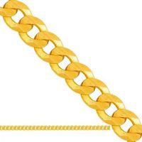 złoty łańcuszek pełny Pancerka Lp014