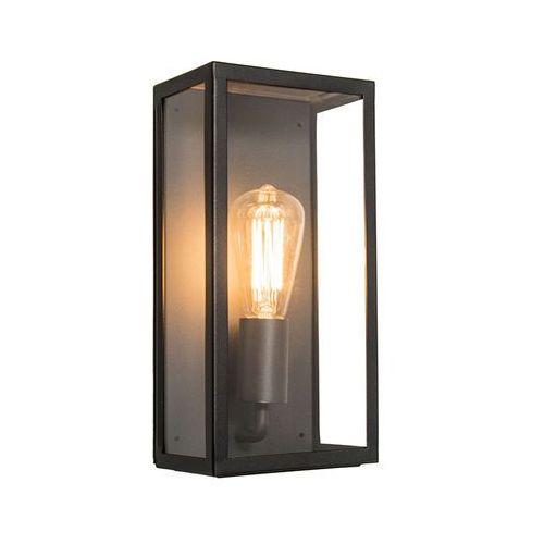 Zewnętrzna lampa ścienna Rotterdam 1 czarna - sprawdź w lampyiswiatlo.pl