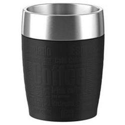 Emsa ,termos - filiżanka - kubek do samochodu, travel cup, poj. 0,2 litra, kolor czarny, nr 514514 (4009049378138)