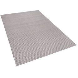 Dywan jasnoszary 140 x 200 cm krótkowłosy KILIS
