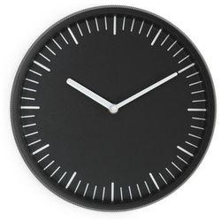 Zegar ścienny Day czarny, kolor czarny