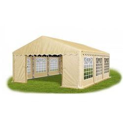 Das company 5x6x2m, solidny namiot bankietowy, imprezowy, ogrodowy, konstrukcja winter/pe 30m2