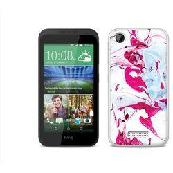 Fantastic Case - HTC Desire 320 - etui na telefon Fantastic Case - różowy marmur - sprawdź w wybranym sklep