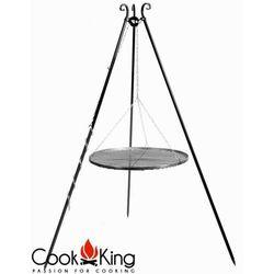 Grill ogrodowy stal czarna 50 cm, produkt marki CookKing