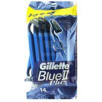 blue ii plus maszynka jednorazowa do golenia 10 szt + 4 szt. marki Gillette