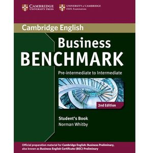 Business benchmark pre-intermediate to intermediate Student's book, oprawa miękka