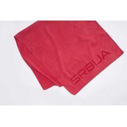 4f Ręcznik sportowy serbia pyeongchang 2018 recu700 - czerwony wiśniowy