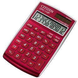 Kalkulator cpc-112rd burgundowy - gwarancja bezpiecznych zakupów - autoryzowany dystrybutor citizen marki Citizen