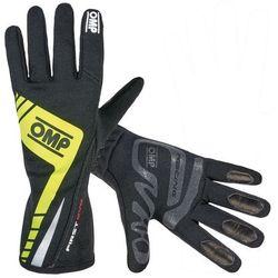 Rękawice OMP First Evo - Czarno / żółty - sprawdź w wybranym sklepie