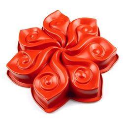 Forma do ciasta Calla Pavoni czerwona