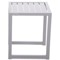 Stolik aluminiowy cuba silver marki Home & garden