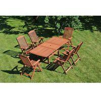 Home&garden Zestaw mebli ogrodowych home&garden meranti 200 6+1 + darmowy transport! (590473024226