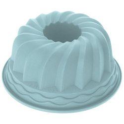 Okrągła forma do pieczenia ciast - silikonowa, 24 cm, miętowa