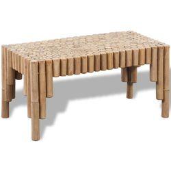 Vidaxl bambusowy stolik do kawy