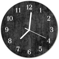 Zegar ścienny okrągły drewno marki Tulup.pl