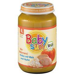 DANIE od 4 mies. RYŻ, DYNIA Z KURCZAKIEM BIO 190g Sun Baby, towar z kategorii: Posiłki dla dzieci