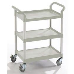 Unbekannt Wózek uniwersalny, 3 piętra, nośność 250 kg, dł. x szer. x wys. 850x480x1000 mm,