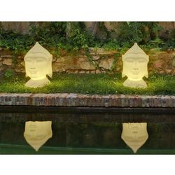 New garden lampa ogrodowa goa 40 c biała - led