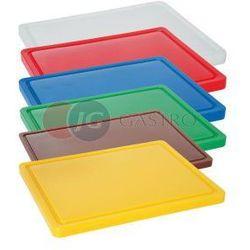 Deska do krojenia HACCP 530x325 mm fioletowa dla alergików 826065, 826065