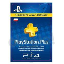 Sony Subskrypcja PlayStation Plus 3 m-ce [kod aktywacyjny] (kod pre-paid)