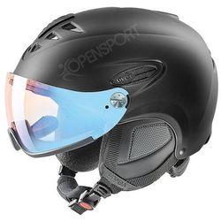 Kask narciarski  hlmt 300 visor variomatic fotochrom black s od producenta Uvex