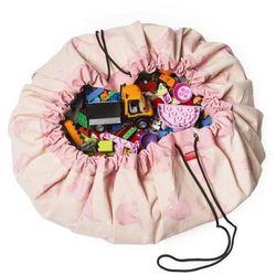 PLAY&GO Worek na zabawki/Mata do zabawy - Różowe słonie