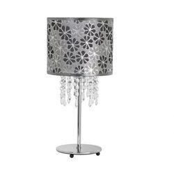 Lampka biurkowa Nowodvorski Calabria 5486 I 1x40W E14 srebrna