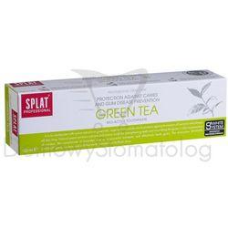 Splat Green Tea 100ml - ochronna pasta wybielająca, łagodząca podrażnienia dzięki naturalnym ekstraktom z