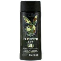 Playboy Men Żel pod prysznic 2 w 1 dla mężczyzn Play It Wild 400 ml (3614221148655)