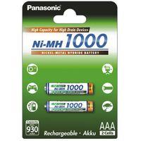 2 x akumulatorki panasonic r03 aaa ni-mh 1000mah (blister), marki Sanyo