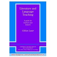 Literature And Language Teaching A Guide For Teachers And Trainers (1993)