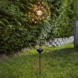 Best season Lampa solarna led firework z grotem ziemnym (7391482033130)