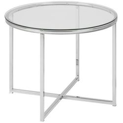 stolik kawowy cross - szkło, chrom marki Actona