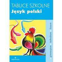 Tablice szkolne Język polski, praca zbiorowa