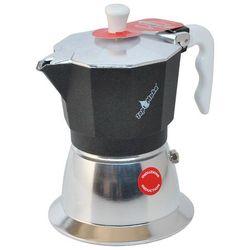 Kawiarka na indukcję top 2 filiżanki - srebrno czarna marki Top moka