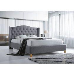 Łóżko aspen 140 x 200 kolor szary/dąb marki Signal meble