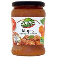 Łowicz  580g klopsy w sosie pomidorowym